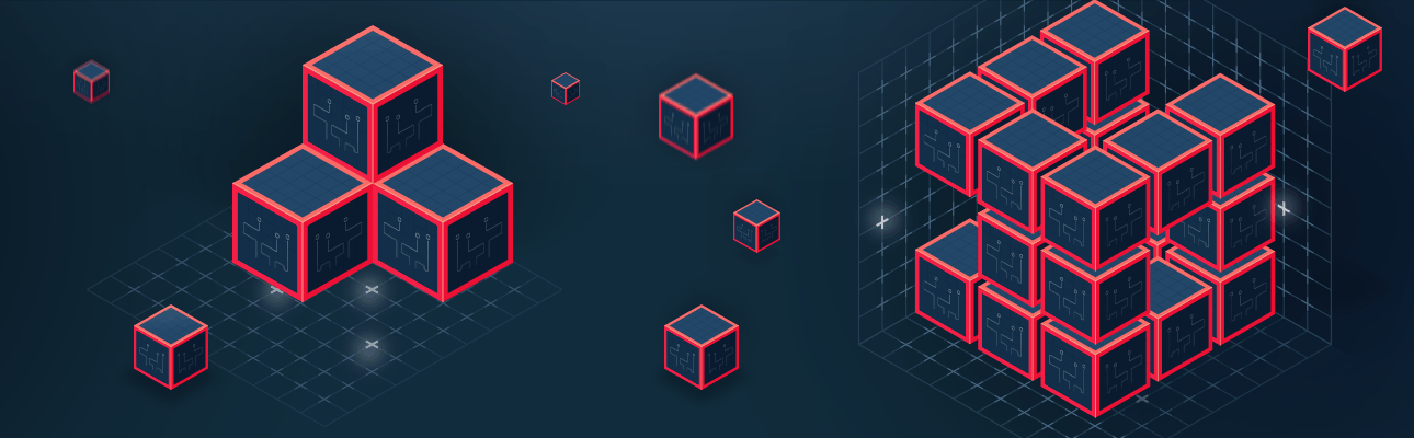 Storing files in a distributed file system using blockchain technology – update